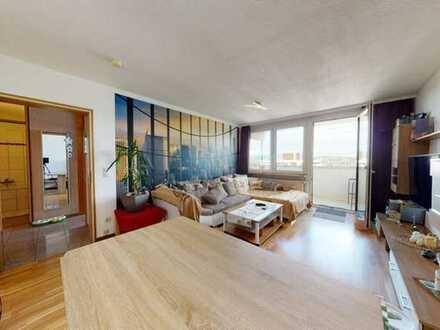 Gemütliche 2 Zimmer Wohnung mit atemberaubender Aussicht in Winnenden-Schelmenholz