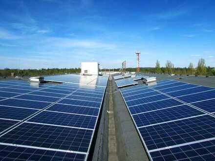 Fläche flexibel ab 240 m² bis 1.400 m² mieten im grünen Bereich – Lager dazu verfügbar