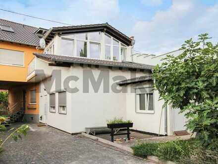Große Nutzungsvielfalt: Modernisiertes Dreifamilienhaus mit Ausbaupotenzial nahe Mannheim
