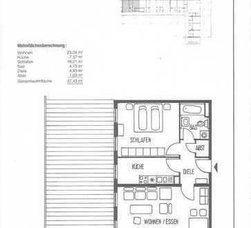 Exklusive 2-Zimmer-Wohnung mit Einbauküche in Karlsruhe