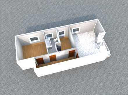 WBS erforderlich! - 2 Zimmer Wohnung mit Balkon und Tageslichtbad