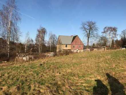 Wunderschön gelegenes Grundstück in Hanglage in Freiberg/ Halsbach.