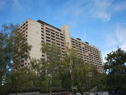Großzügige, möblierte 2-Zimmer-Wohnung mit Aussicht in KA-Rüppurr