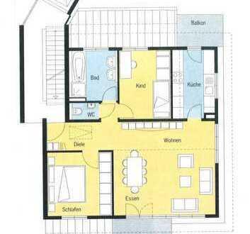 Traumhafte 3-Zimmer-Dachgeschoss-Wohnung inkl. TG-Stellplatz in Ostfildern-Nellingen, Nussweg 45