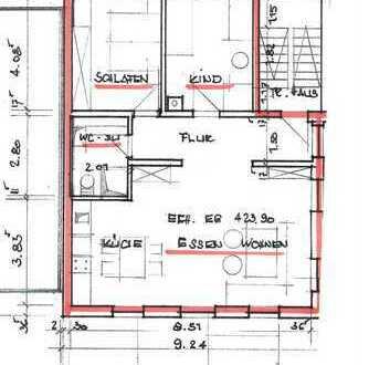 Erstbezug mit Terrasse: Helle 3-Zimmer-Wohnung in Neuffen