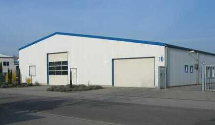Hochwertige Gewerbehalle/Büro/Sozialräume - komplett mit Fußbodenheizung
