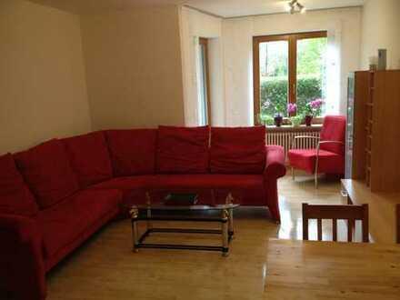 2-Zimmer-Erdgeschosswohnung, provisionsfrei, mit Terrasse/Garten, Keller und Tiefgaragenstellplatz