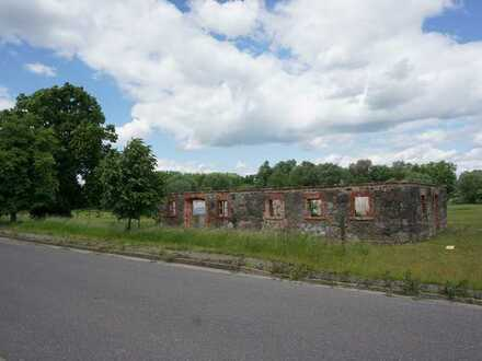 Das ehemalige denkmalgeschützte Kutscherhaus auf dem Gut Jagow zu verkaufen