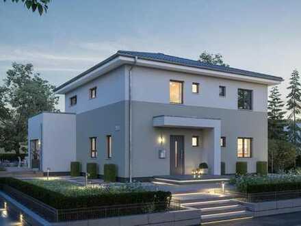 Doppelhaus als Stadtvilla