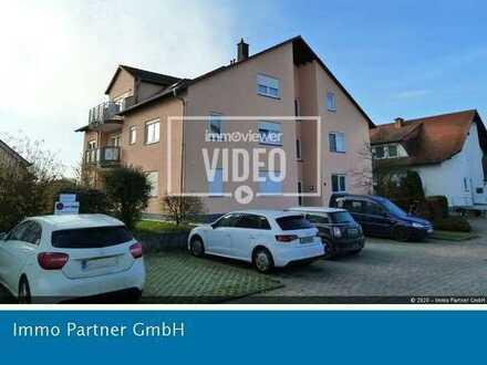 Gemütliche 3 Zimmer Wohnung mit Balkon und Tiefgaragenstellplatz in Bellheim