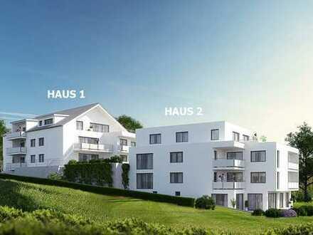 3-Zimmer Dachgeschosswohnung mit Balkon in Haus 1