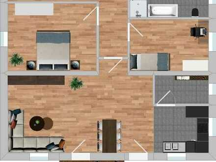 Schöne 3-Zimmer-Wohnung in Rain