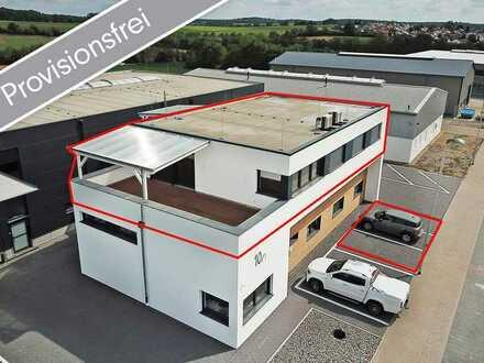 Provisionsfreie Bürofläche ERSTBEZUG - Neubau in top Lage mit großflächiger Sonnenterrasse!