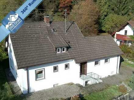 Einfamilienhaus in sehr schöner Lage von Bad Grönenbach / Allgäu