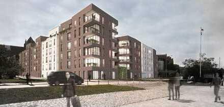 2-Zimmer-Wohnung mit großzügiger, sonniger Terrasse - Bauprojekt HanseHof