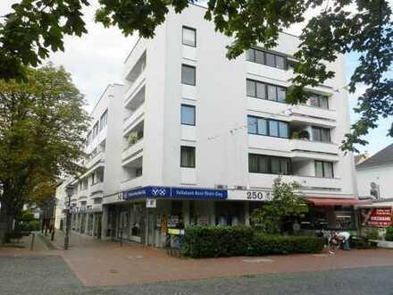 Sehr schöne Maisonettewohnung, TOP LAGE in der Fußgängerzone 3 Zimmer, Balkon, ca. 84m²