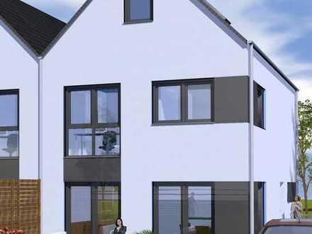 Neubau einer moderne Doppelhaushälfte zur Erstvermietung in Braunschweig Rautheim