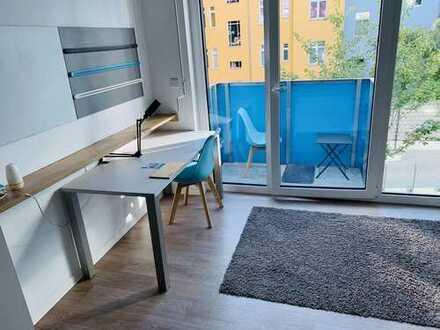 Bild_Studentenappartement ab 01. *1 Zimmer möbiliert * 630 warm: Fitnessraum, Internet, Heizung, Strom