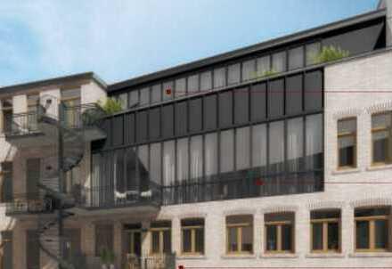Penthouse mit einmaligen Blick über Halle`s Dächer - direkt in der City - PROVISIONSFREI