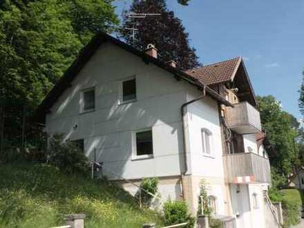 Obergünzburg überblicken! Tolles Einfamilienhaus am Berg!