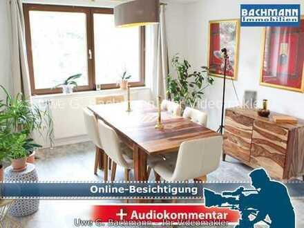 Berlin - Mahlsdorf: ETW mit 3 Zi., Balkon, Dachboden, Stellplatz & Gartenanteil - UWE G. BACHMANN