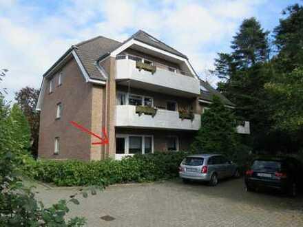 Zentrale Hochparterre-Wohnung in Norden!