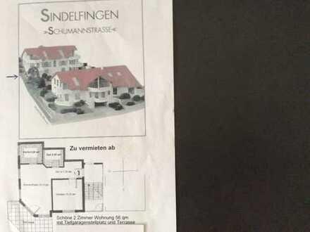 Exklusive, gepflegte 2-Zimmer-Wohnung mit Terrasse und Einbauküche in Sindelfingen