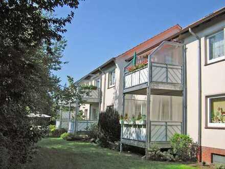 Wohnung mit Aussicht auf gepflegte Grünanlage