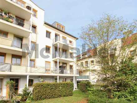 Kapitalanlage in Bayreuth: Vermietete 1-Zi.-ETW mit Balkon in attraktiver, gut angebundener Lage