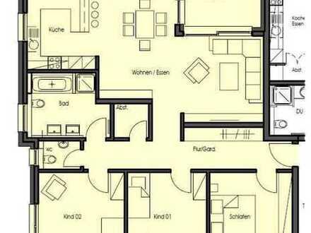 Zentrumsnahe Neubauwohnung: 4½-Zimmer-Wohnung in ruhiger Gegend