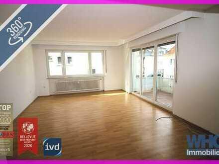 Gepflegte 4-Zimmer-Wohnung mit Pkw-Stellplatz in Ludwigsburg