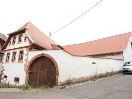 Historischer Gutshof mit Renovierungsbedarf - Kapitalanlage