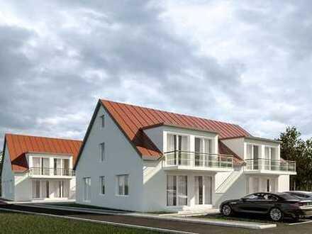 Neubau - KfW55: Eigentumswohnung in Aretsried - HIER WIRD IHR ZUHAUSE GEBAUT !