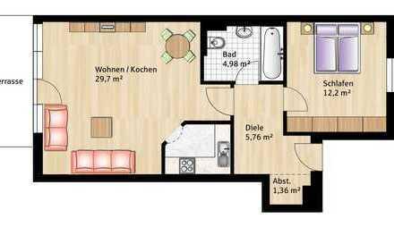 Vermietete 2-Zimmer-Wohnung im Landsberger Norden