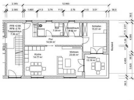 2,5 Zimmer mit Balkon zu vermieten
