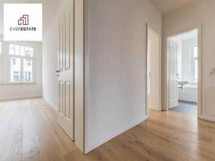 Provisionsfrei & frisch renoviert: Wunderschöne Eckhauswohnung