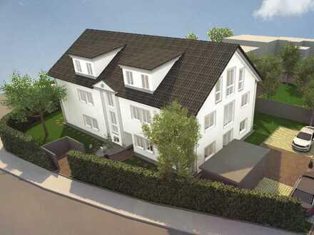 Attraktiver Neubau mit 6 Mietwohnungen, 4- und 3- Zimmer-Wohnungen