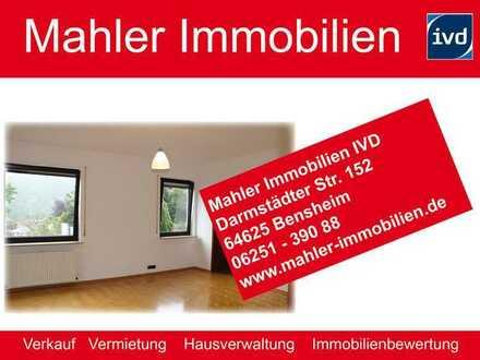 Hochwertige helle 2 ZKB Wohnung mit Einbauküche und Außen-Stellplatz in Bensheim am Lemeinberg