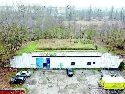 FRÜHJAHRS-AUKTION 2021: Bunkeranlage - derzeit als Einzelhandel und Lager genutzt