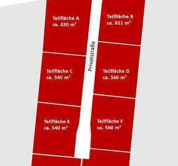 Baugrundstück für stilles Gewerbe in Brieselang