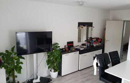 RESERVIERT bis 23.7 / Gepflegte 1-Zimmer-Wohnung mit Balkon und EBK in Burgau