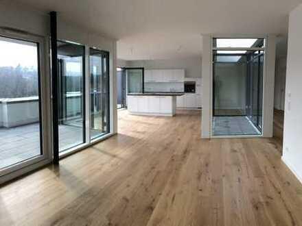Penthouse-Wohnung mit verglastem Innenhof - Neubau!