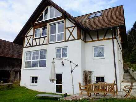 Modernisierte 4-Zimmer-Erdgeschosswohnung mit Balkon in Heiligenberg