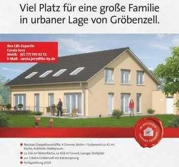 Gröbenzell- Neubau - Doppelhaushälfte - viel Platz für eine große Familie.