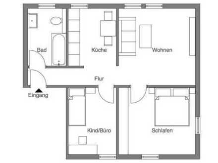 Möblierte, lichtdurchflutete schöne 3,5 Zimmer Wohnung in Unna (Kreis), Schwerte - KEINE MAKLERPROV.
