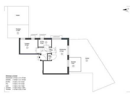 Freundliche 2-Raum-Wohnung in Pfedelbach-Untersteinbach