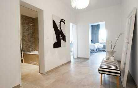 Stilvolle, vollständig renovierte 2-Zimmer-Wohnung mit Balkon in Moosburg an der Isar