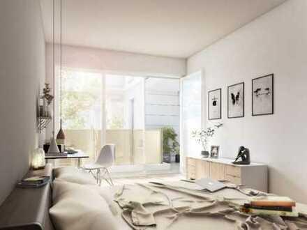 Außergewöhnlich wohnen in moderner 3-Zimmer-Wohnung mit idyllischem Balkon in toller Lage