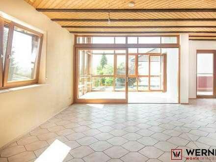 3D-Immobilie:*Attraktive 2,5-Zimmerwohnung mit Wintergarten in Ortsrandlage