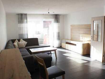 ***Junge, moderne 3 Zimmer Wohnung (teilmöbliert) mit Balkon und PKW-Stellplatz***